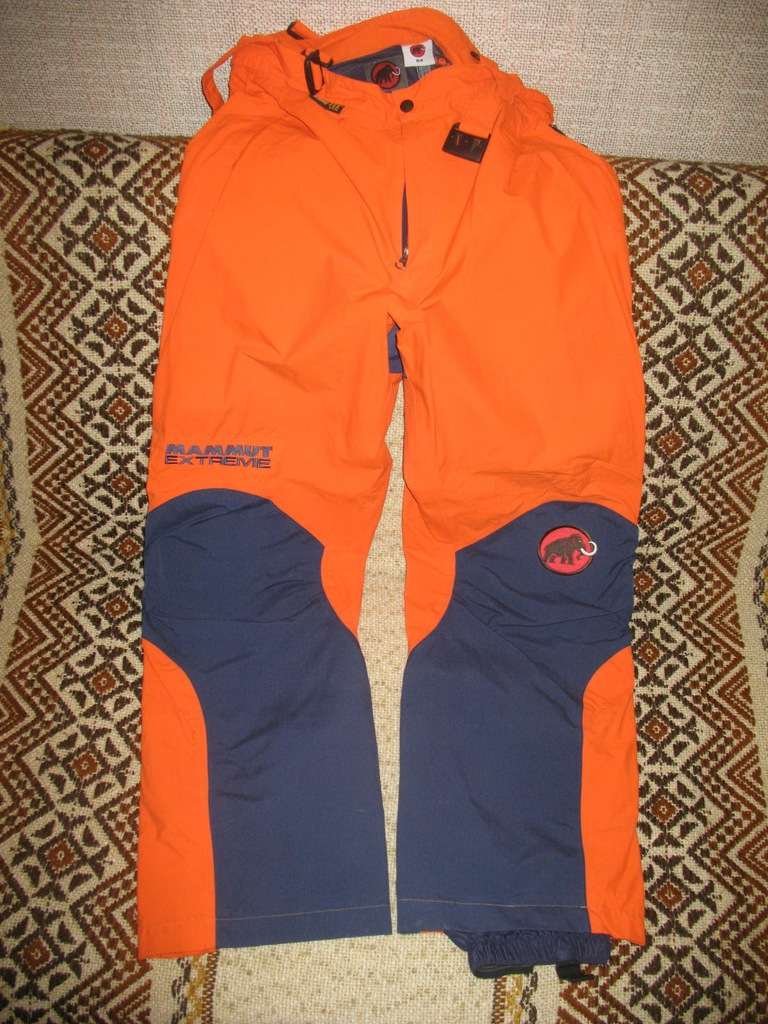 Wyprawowe spodnie Mammut Extreme GoreTex 54