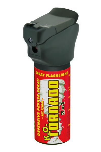 Gaz pieprzowy ESP Tornado z latarką LED 50 ml G007