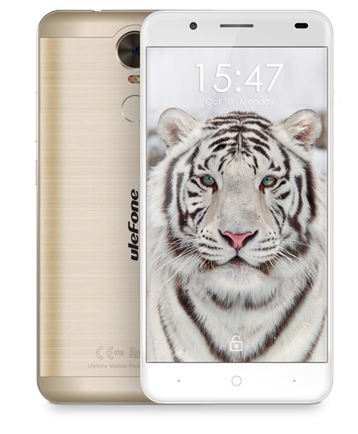 Ulefone Tiger 4x1.3GHz 5,5' 2/16GB LTE Android 6.0