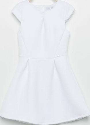 Biała dziewczęca sukienka w rozm. 140