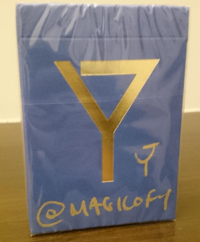 Karty Y Niebieskie V3 Magic Of Y Podpis 7246410213 Oficjalne Archiwum Allegro