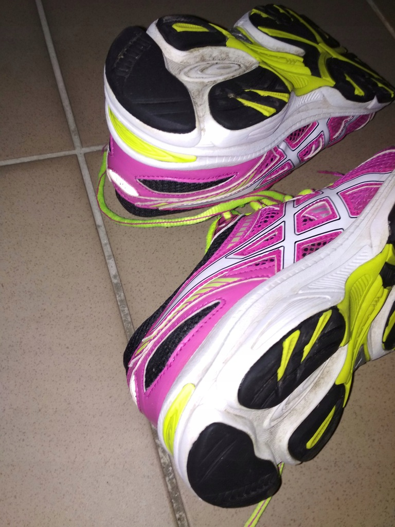 buty halówki tenisówki asics C40PQ r 36 GEL Ikaya