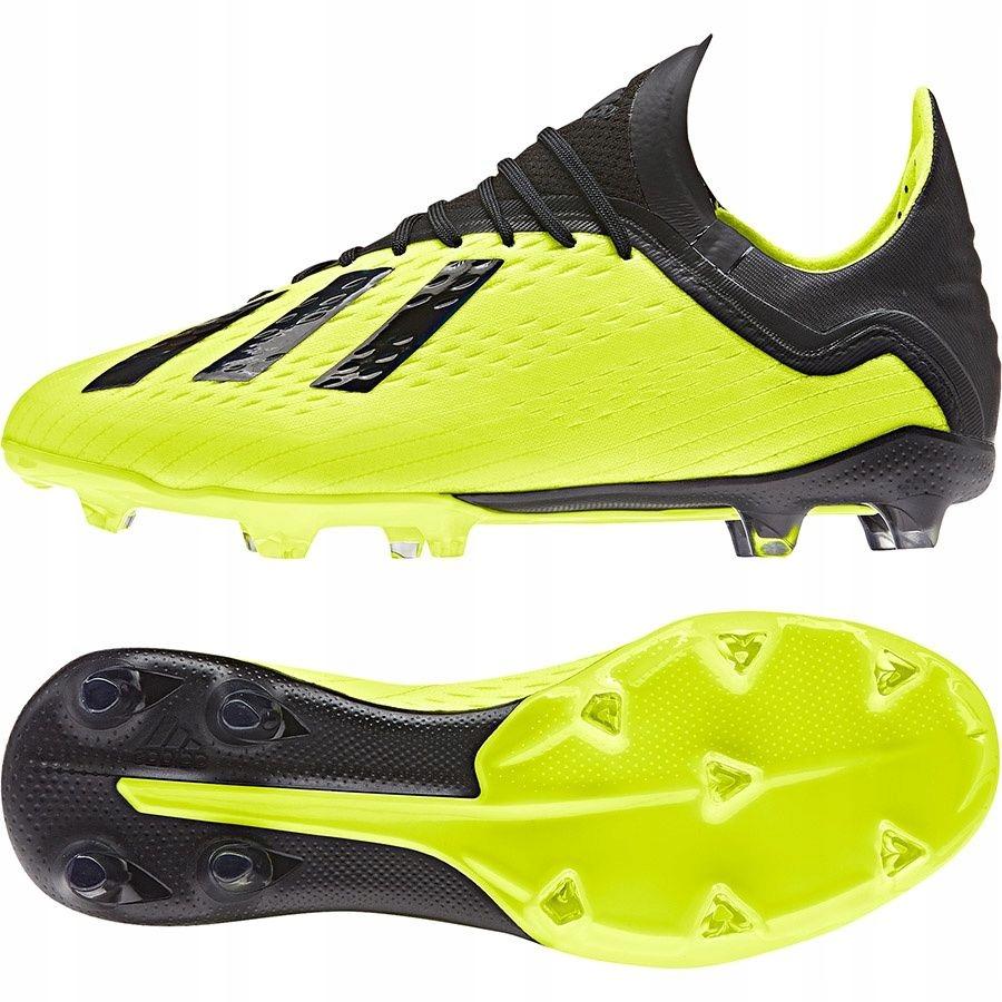 Buty adidas X 18.1 FG J DB2429 37 13 żółty