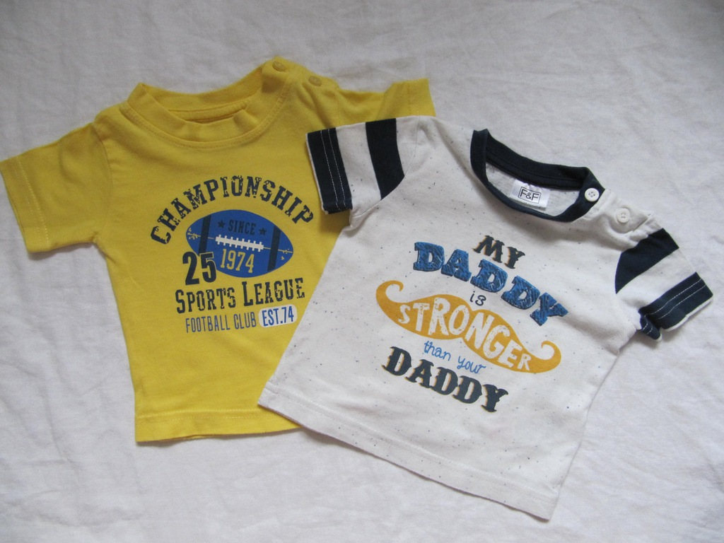T-shirt F&F Early Days 0-3 months H&M