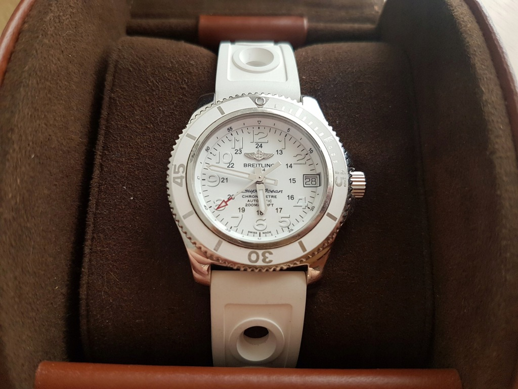 PIĘKNY zegarek Breitling Superocean II 36