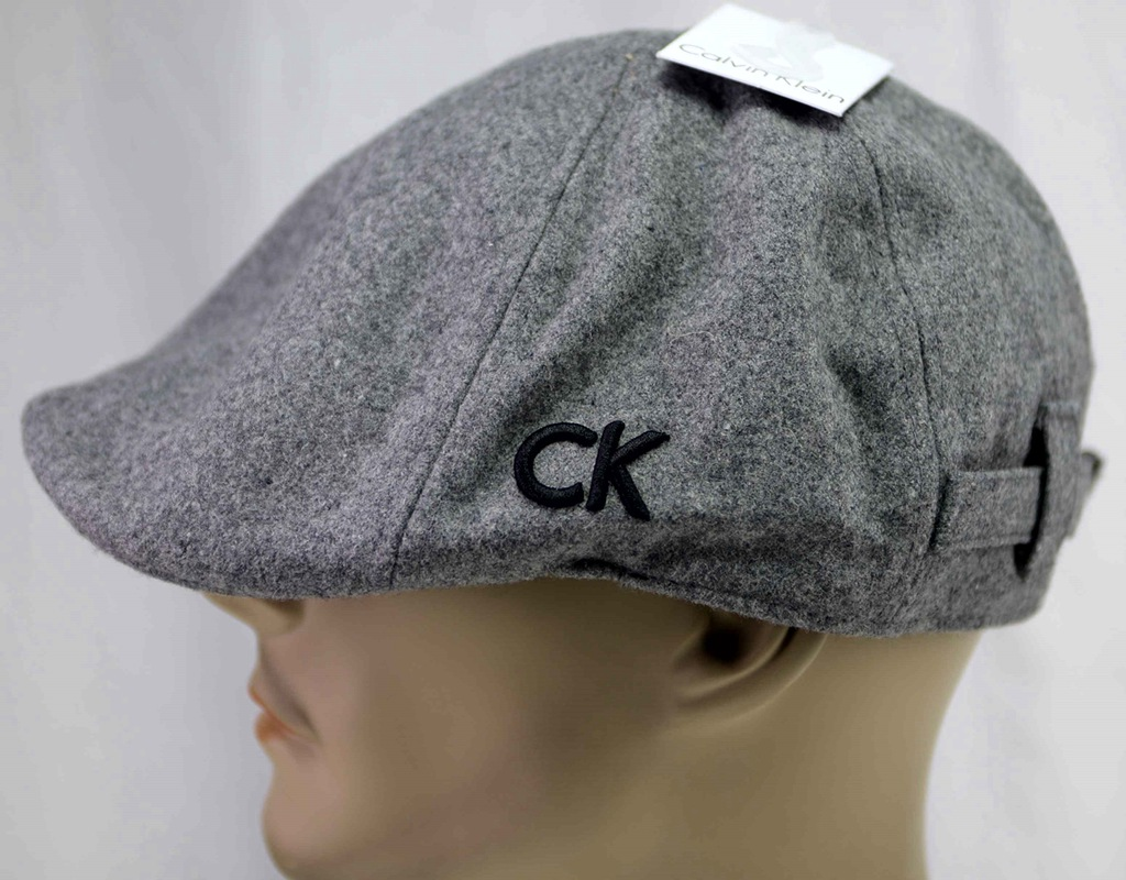 Calvin Klein CK Czapka Kaszkiet męski Oryginał 59