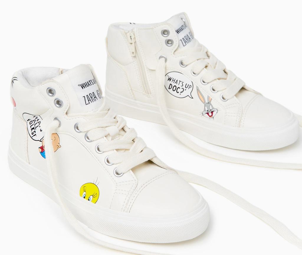 trampki TENISÓWKI buty sportowe 37 nowe ZARA
