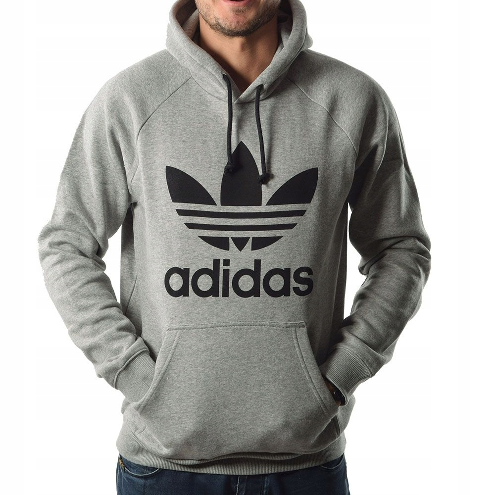 Męska Bluza Adidas Originals Trefoil r.L kangurka