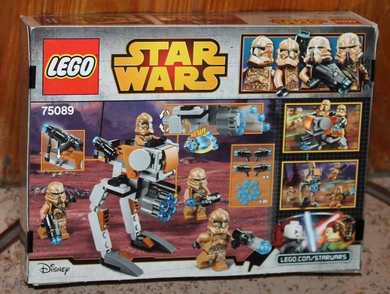 LEGO STAR WARS 75089 GEONOSJAŃSCY ŻOŁNIERZE NOWY