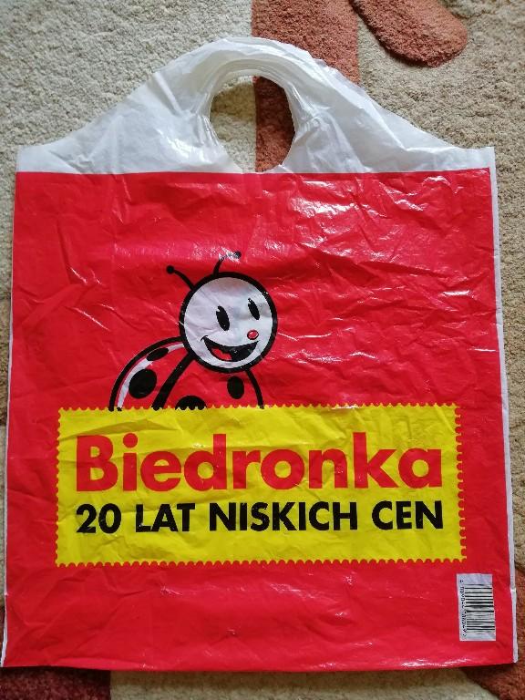 Torba Z Biedronki Unikat Czerwona 7229534036 Oficjalne Archiwum Allegro