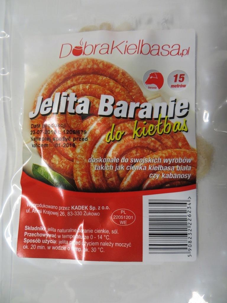 Jelita Baranie 18 20 Dobra Kielbasa Poznan 7741969031 Oficjalne Archiwum Allegro