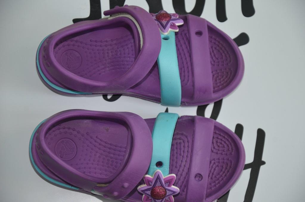 Crocs sandałki C8 rozmiar dziecięcy ok 24 25