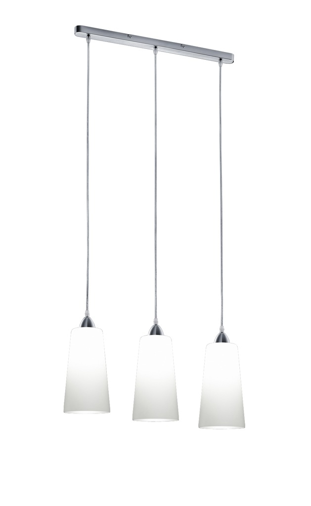 Lampa wisząca KONI 3 biała R30553001 TRIO OD RĘKI!