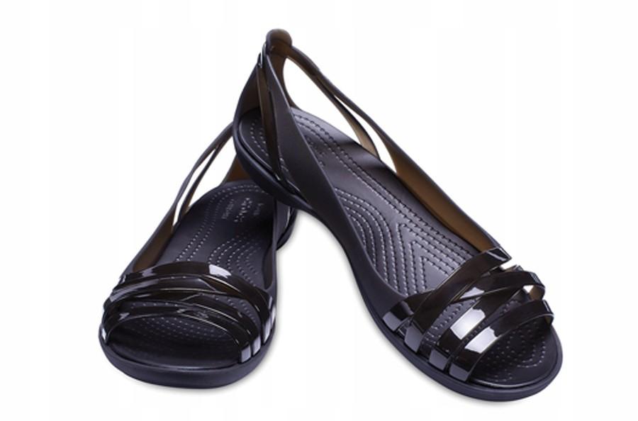 Buty Crocs Isabella Huarache czarne r.38,5