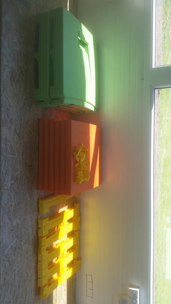 167C3 TERRY Skrzynia ogrodowa na zabawki plastik