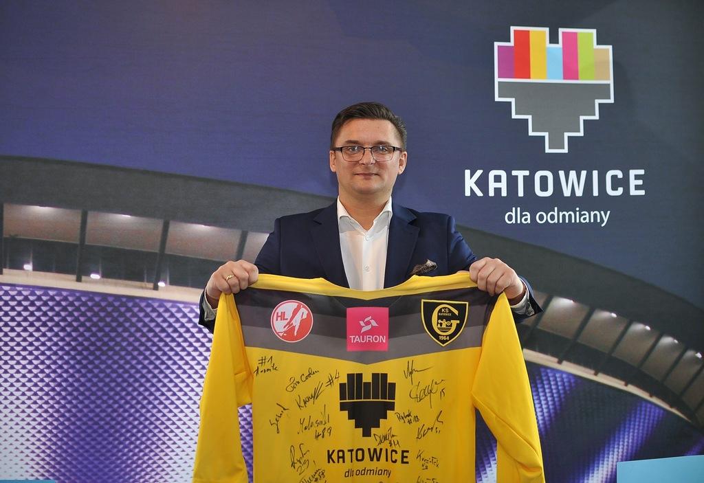 Autografy! Tauron KH GKS Katowice! Marcin Krupa!