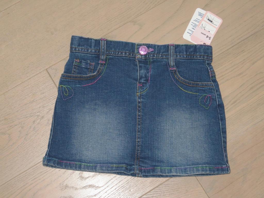MOTHERCARE mini jeansowa 116cm 5-6 lat NOWA