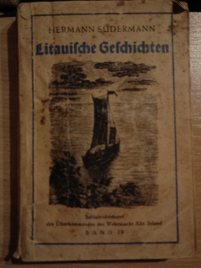 książka niemiecka Litauische Geschichten - 1942 r.
