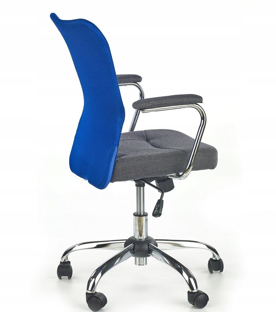 Krzesło ANDY Halmar 24h zielone siatka biurowe