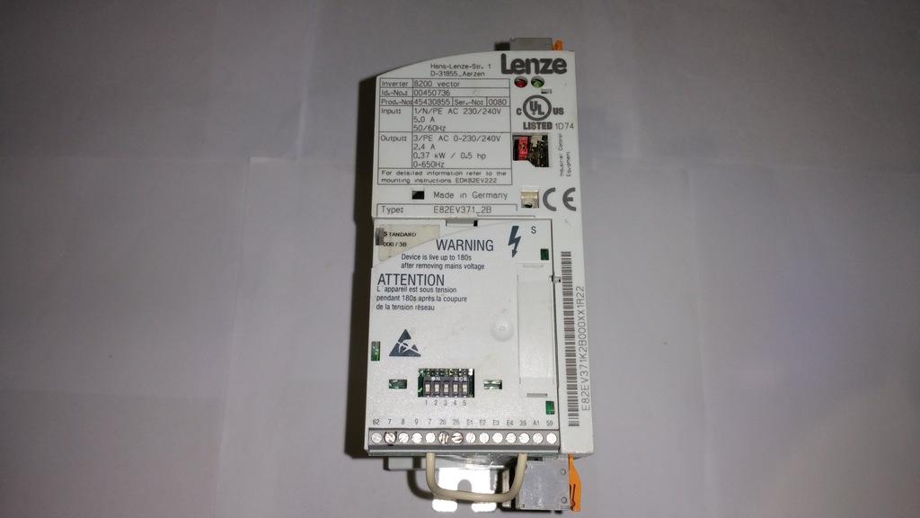 One Lenze E82EV371-2B