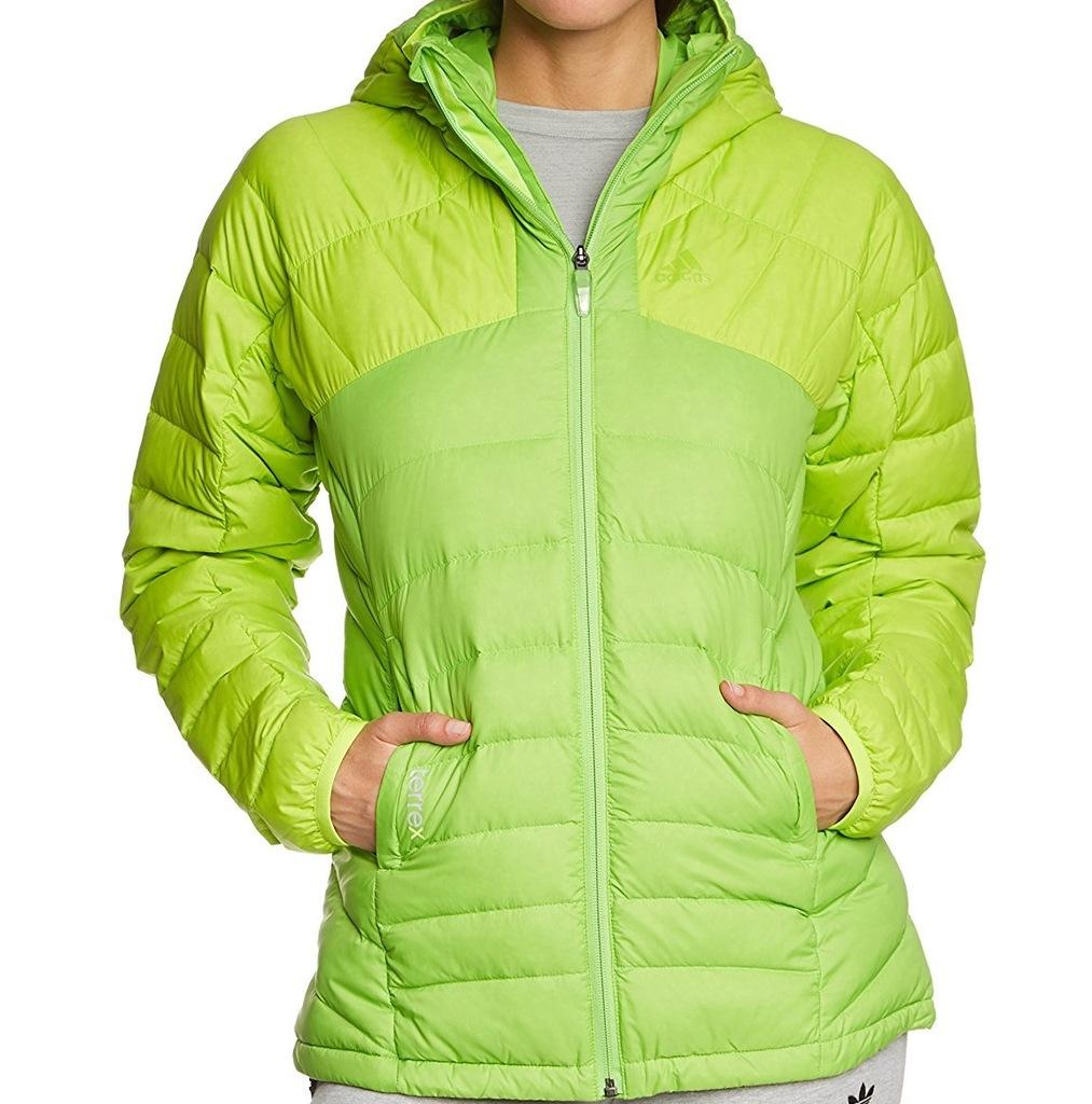 ADIDAS ORIGINALS Kurtka zimowa Long w kolorze zielonym
