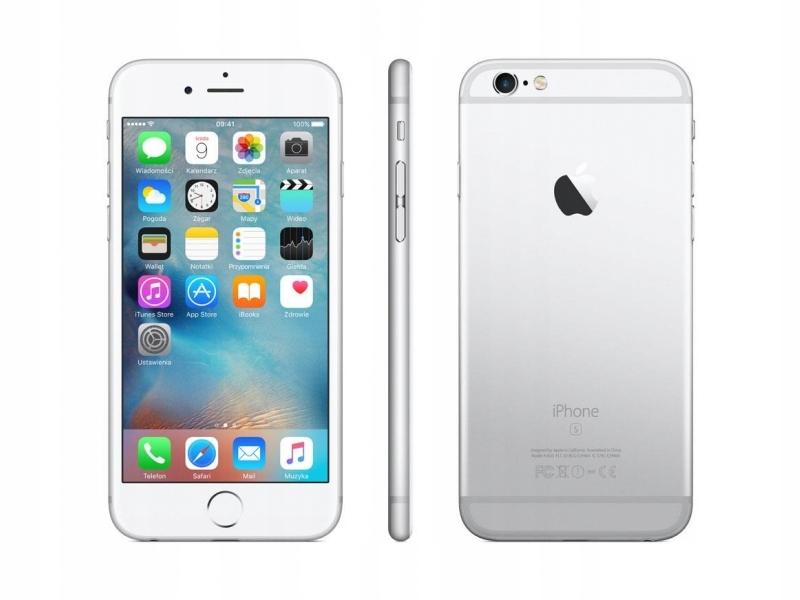 Apple Iphone 6s Plus 5 5 16gb 4k Lte Silver Bialy 7458111933 Oficjalne Archiwum Allegro
