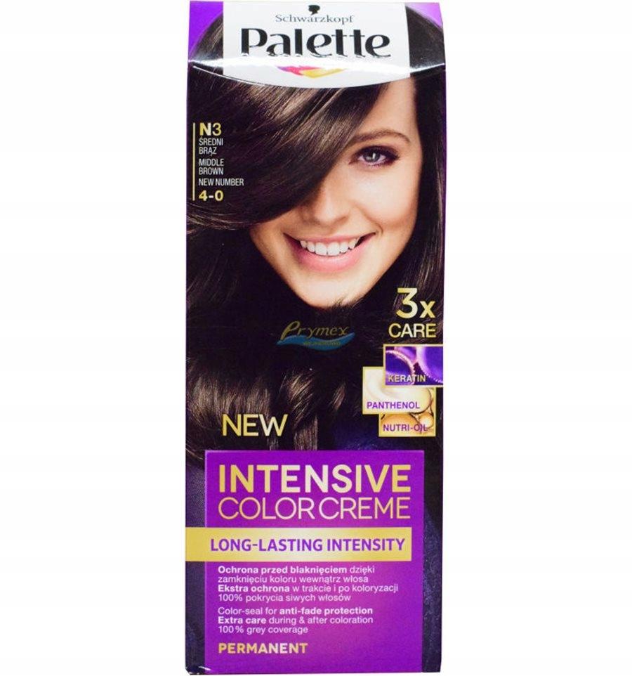 Palette Intensive Color Creme N3 Średni Brąz