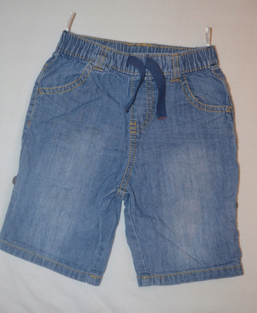 Krótkie spodenki jeansow dla chłopca C&A r. 92