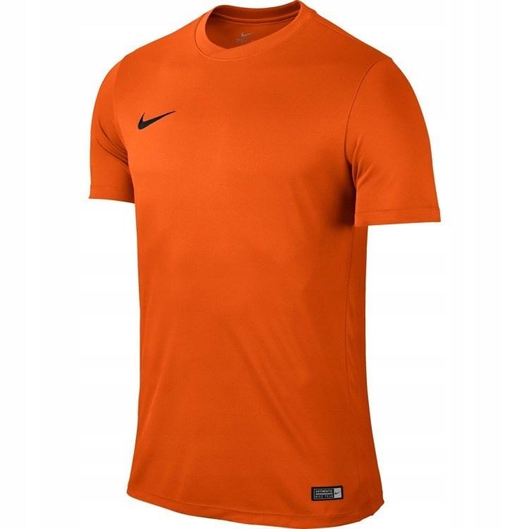 Koszulka męska Nike PARK VI DRI FIT zielona sportowa
