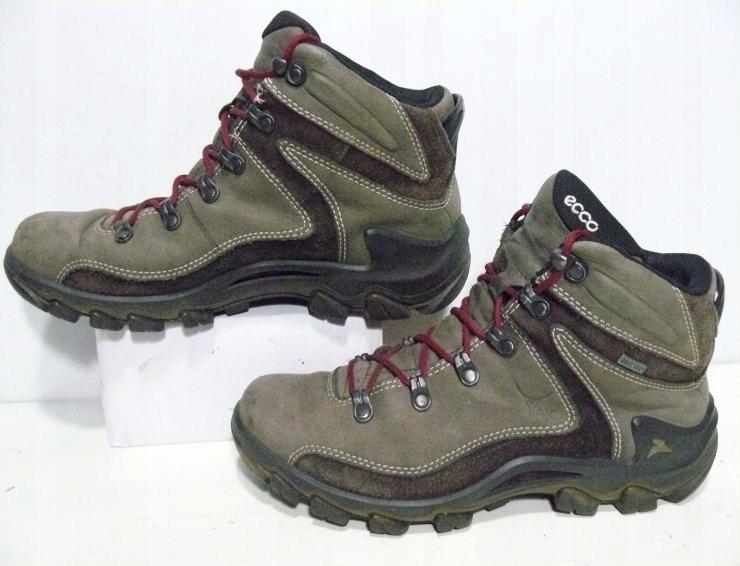 ECCO trekkingowe skórzane męskie na GORE TEX r 40
