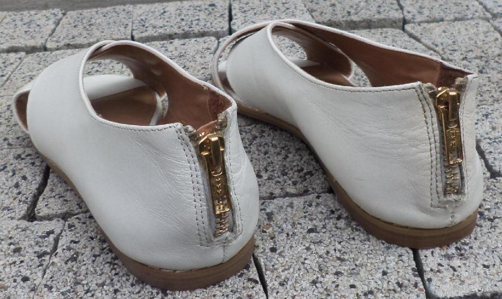 ALDO sandały SKÓRZANE ECRI PIĘTA SUWAK WOLNE PALCE