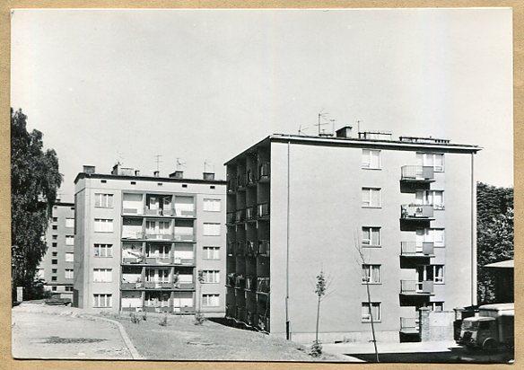 RYBNIK  --  Ulica Tęczowa - Osiedle mieszkaniowe