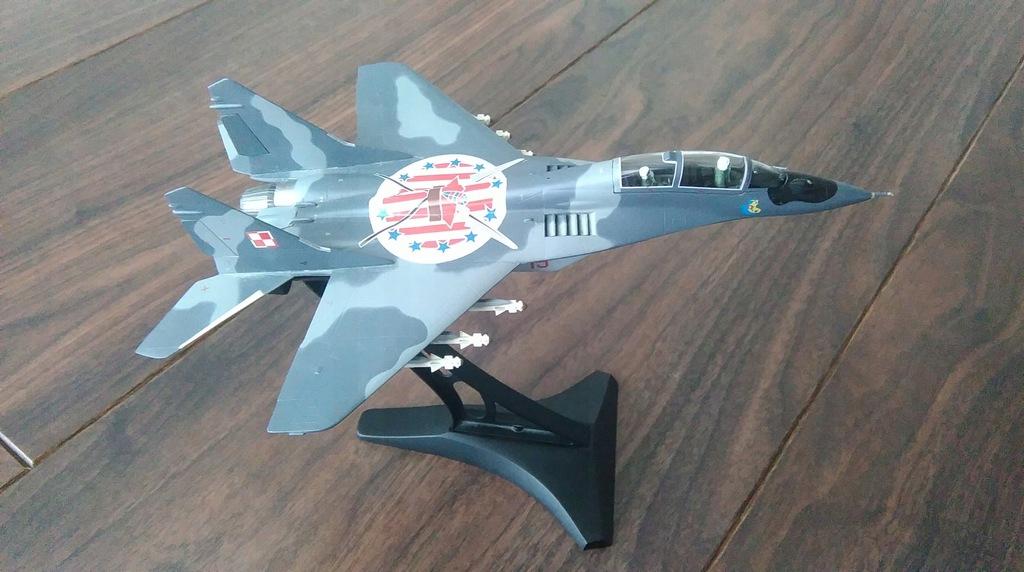 Metalowy Model Samolotu Mig 29 7530727339 Oficjalne Archiwum Allegro
