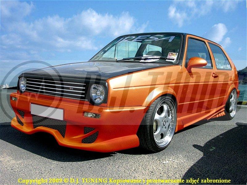 Vw Golf Ii Progi New Radical Mini Dj Tuning 7041726747 Oficjalne Archiwum Allegro