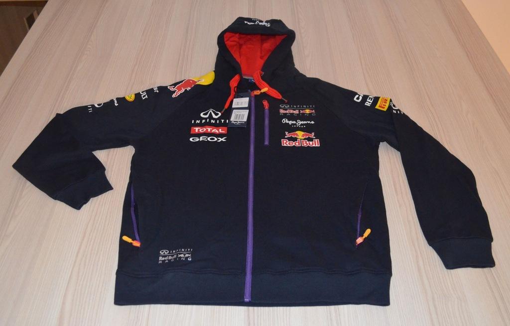 Bluza męska z kapturem Teamline Infiniti Red Bull Racing 2014
