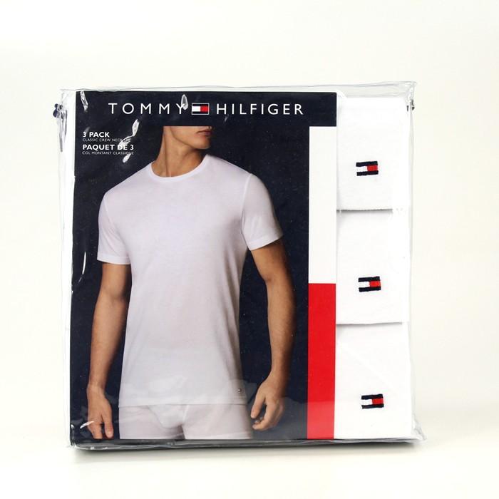 NOWE Podkoszulki x 3 Tommy Hilfiger białe rozm L