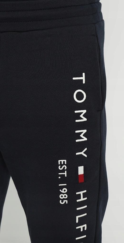TOMMY HILFIGER MĘSKIE SPODNIE DRESOWE ROZMIAR XL