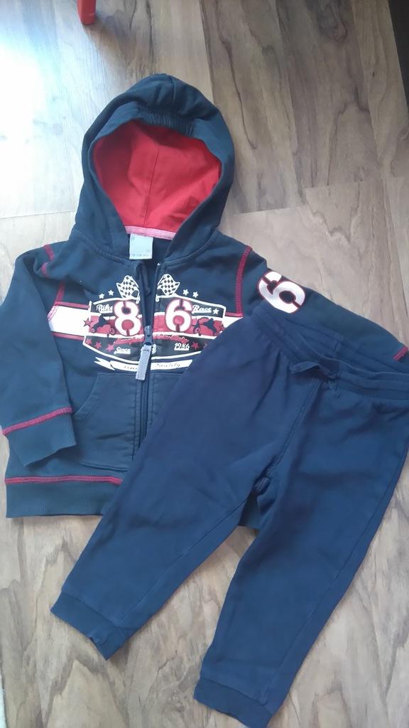 Bluza coccodrillo r:86 spodnie H&M R:86 GRATIS