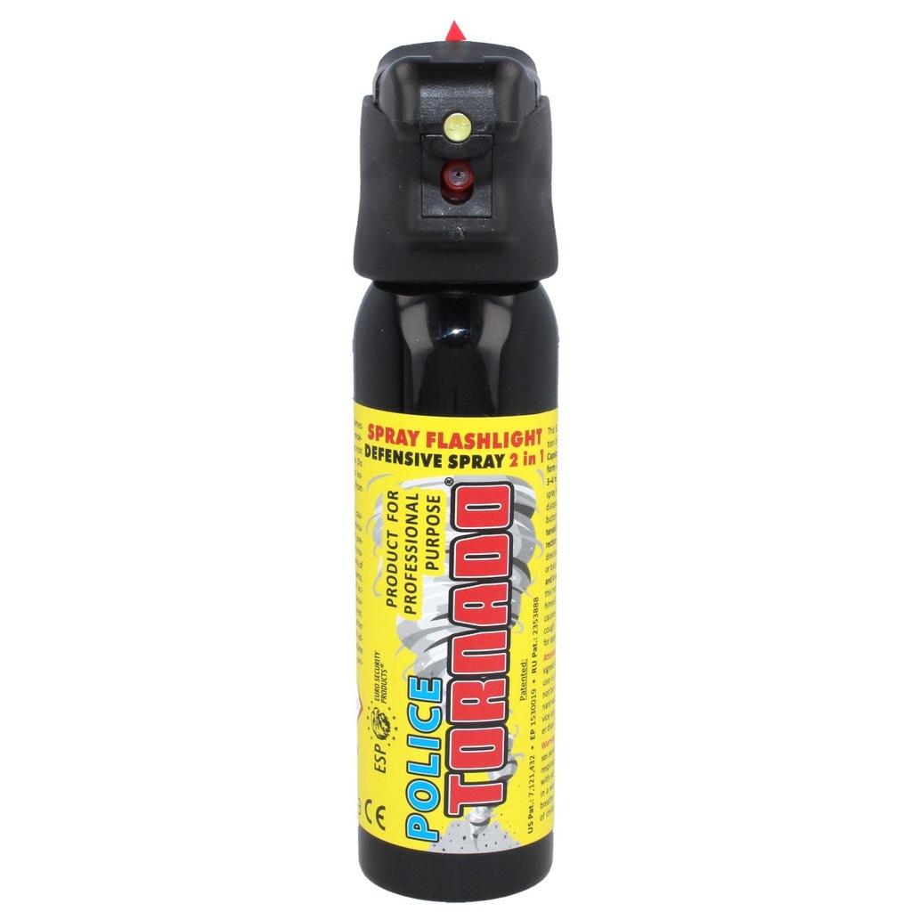 Gaz pieprzowy ESP Tornado LED 100ml (SFL-01-100)