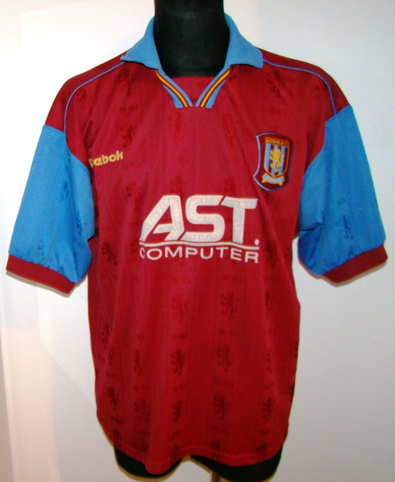 KOSZULKA ASTON VILLA FC REEBOK RBK 1997 98 RARE