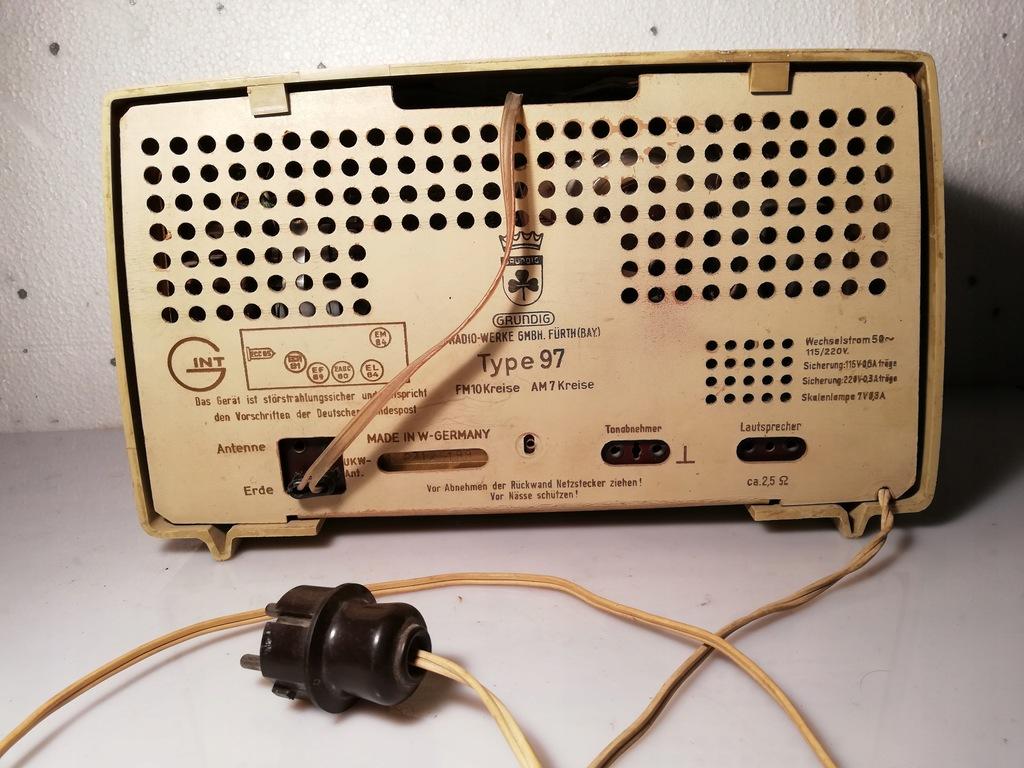 Radio Grundig 97 - 7733753068