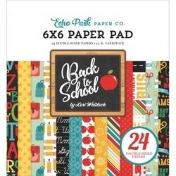 Zestaw papierów 15x15 - Echo Park - Back To School