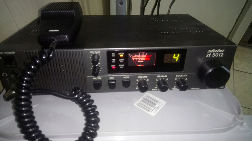 CB radio stacjonarne Stabo xf 5012