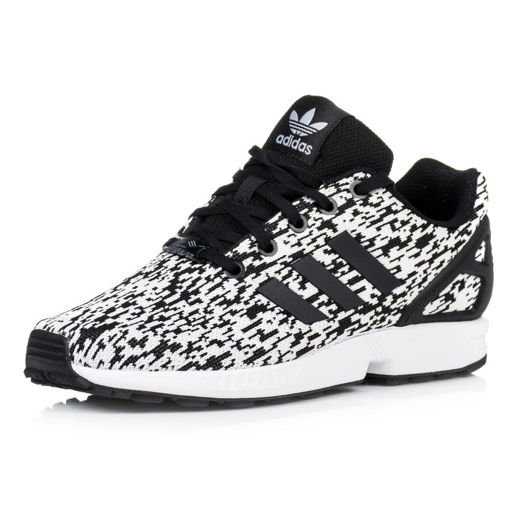 Buty damskie adidas ZX Flux biało czarne 39 13