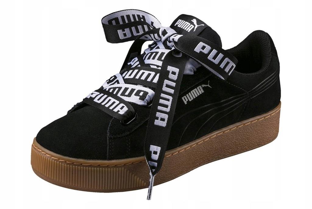 Buty Puma Vikky Platform Ribbon 365314 01 r. 37