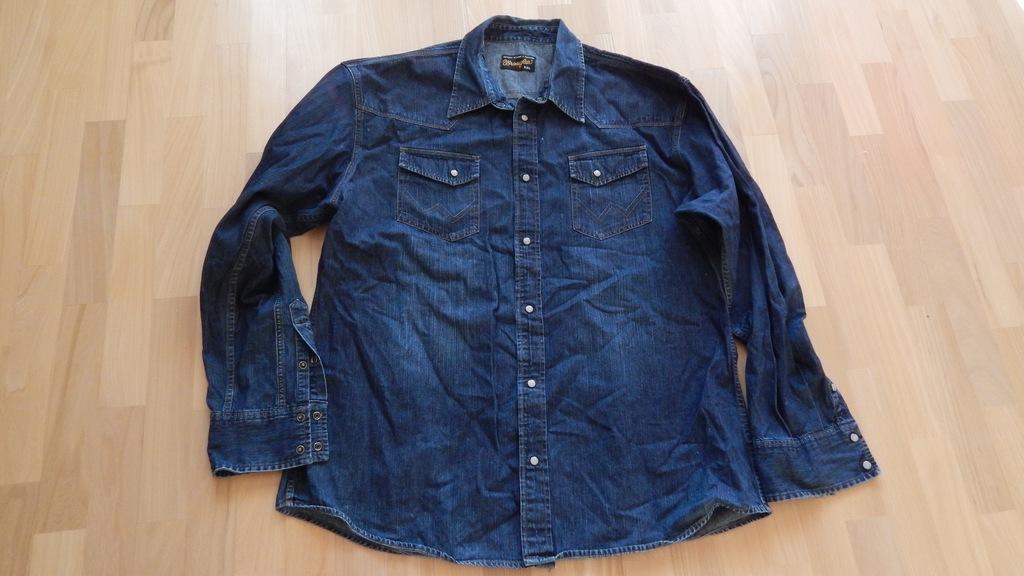 Wrangler koszula jeansowa XXL, super stan