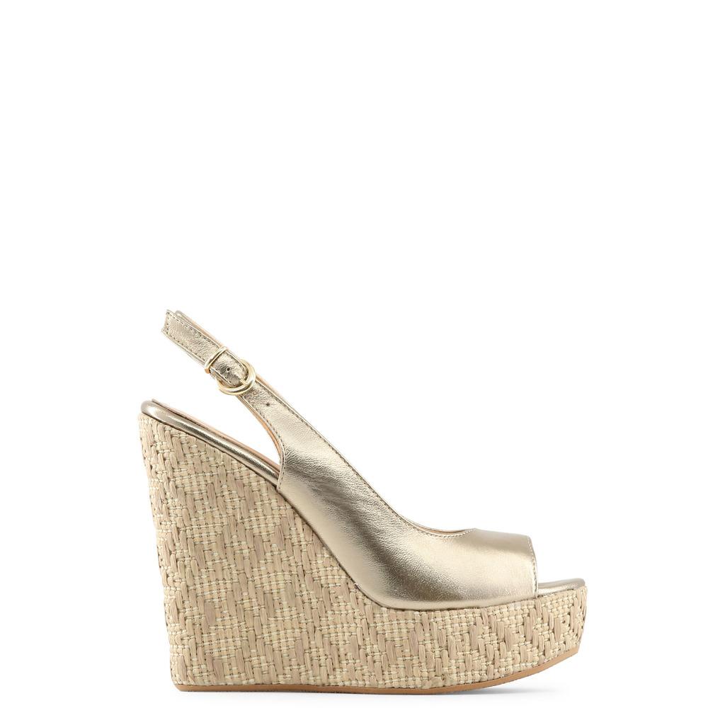 Włoskie sandały na koturnie Sandały damskie Kolekcja