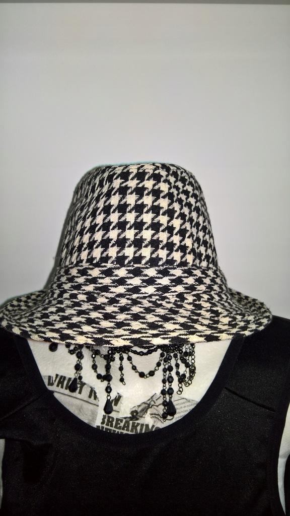 kapelusz pepitka Atmosphere nowy!