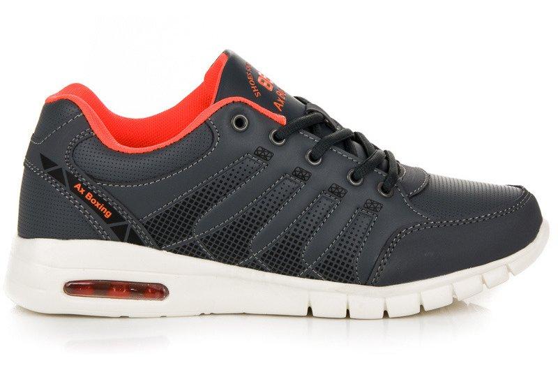 Ciemnoszare buty sportowe r.41