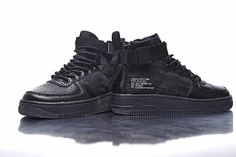 Buty Nike Special Field Air Force 1 Black r.44